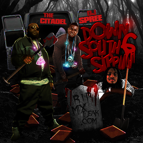 Various Artists - Down South Sippin' 6 (r.i.p. Mixleak.com) Hosted by The Citadel & Dj Spree // Free Mixtape @ DatPiff.com