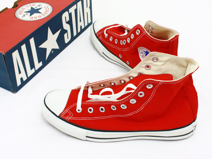 Converse All Star (Made in U.S.A.) Hi - Red(アメリカ製 コンバースオールスター ハイカット レッド) - Eight Hundred Ships & Co.