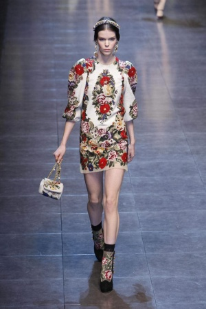 Dolce & Gabbana Ready To Wear Fall Winter 2012 Milan