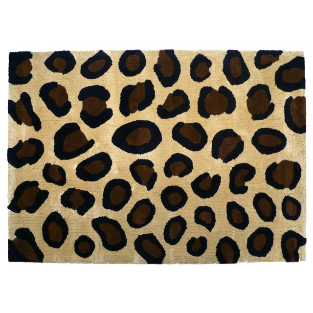 Gallery 1950/商品詳細 Original Rug Mat -ANIMAL LEOPARD-