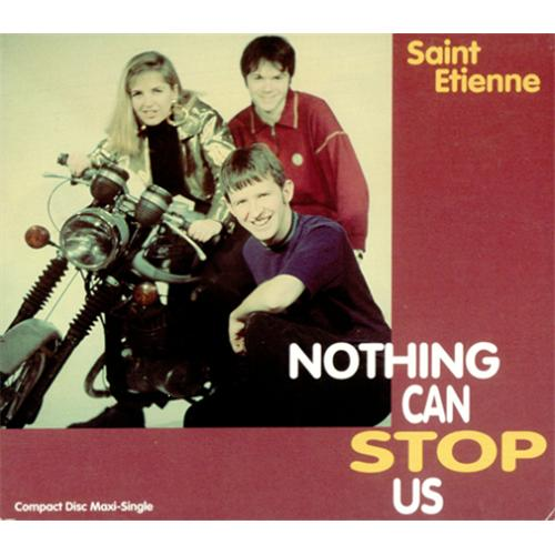 """St Etienne Nothing Can Stop Us USA CD single (CD5 / 5"""") (74490)"""