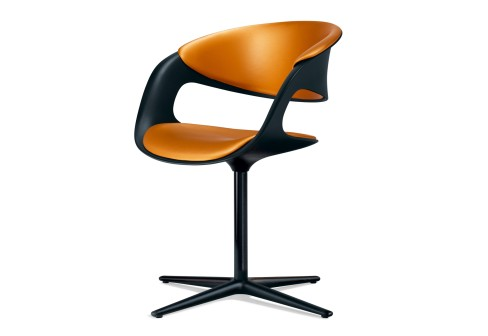 Bucket Seat Chair by Walter Knoll - Lox