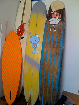 The He-Man: Barry Mcgee Surfboards