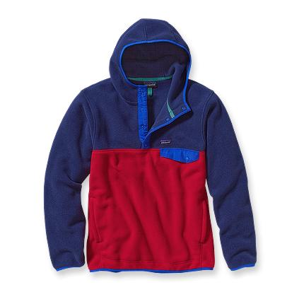 Patagonia Men's Synchilla® Recycled Snap-T® Fleece Hoody | Classic Navy