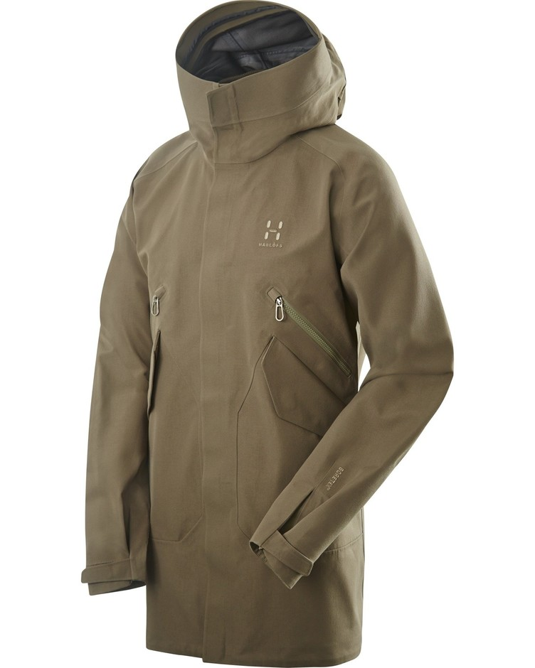 Haglofs Lima Jacket 19Fourteen Driftwood Large: Amazon.co.uk: Clothing