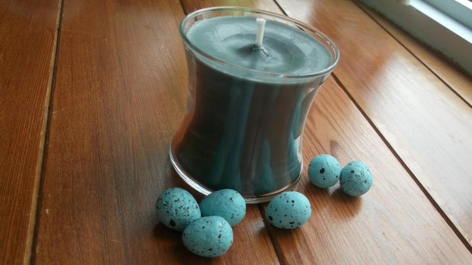 Soy Wax Candle 4oz And Dyed With Veggie Dye.... Dragonblood Scent | Luulla