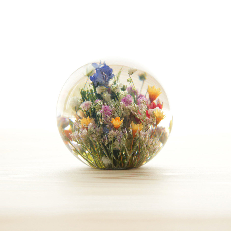 Landscape Products - Hafod Grange - Paperweight S #mixed flora