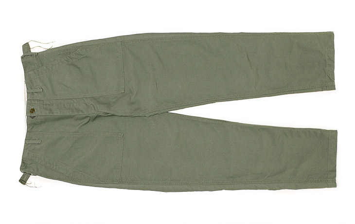 ENGINEERED GARMENTS/Fatigue Pant-Cotton Double Cloth-Olive