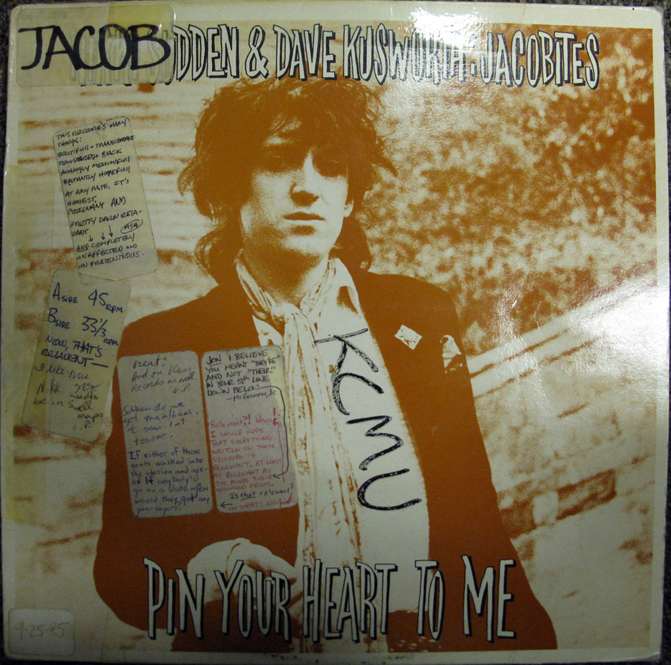 Review Revue: Nikki Sudden and Dave Kusworth: Jacobites - Pin Your Heart to Me
