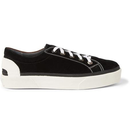 Lanvin - Two-Tone Suede Sneakers
