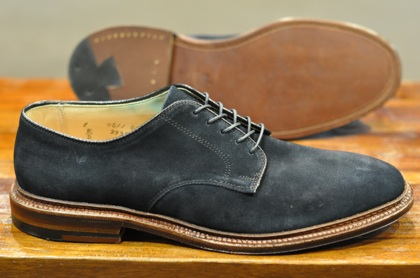 Alden Shoes – Navy Suede PTB x 2 (LSW & LSBH) | Leather Soul