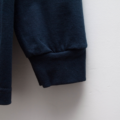 Basic L/S - Navy - cup and cone WEB STORE