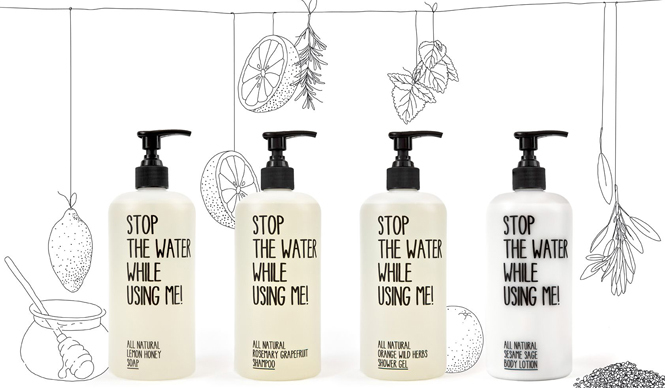 Produkte | STOP THE WATER WHILE USING ME!