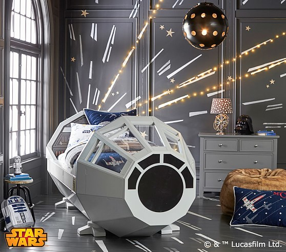 Star Wars™ Bed | Pottery Barn Kids