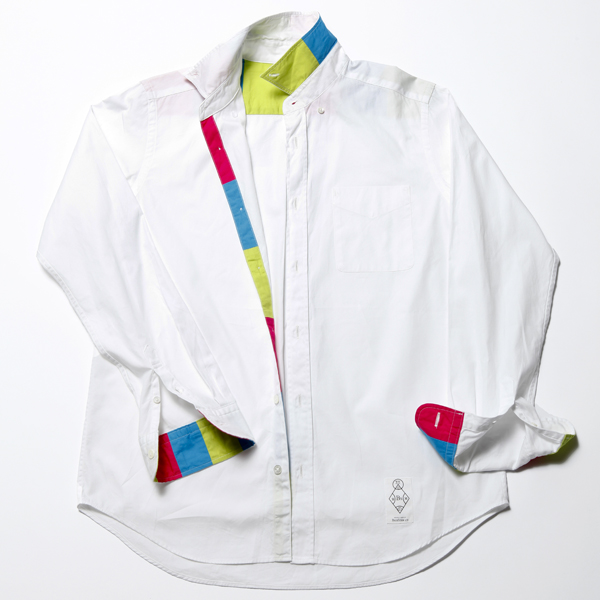 FLUORESCENT OXFORD B.D SHIRT - 2012 SPRING & SUMMER : BiceSter