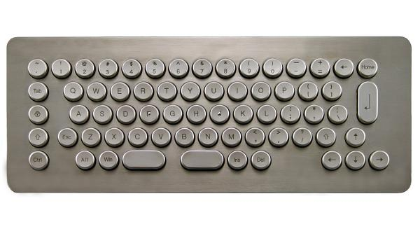 MK69D - Metal Kiosk Keyboard | TG3 Electronics, Inc.