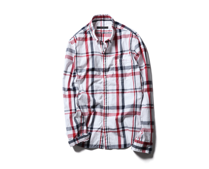 SOPHNET. | PRODUCT | BIG CHECK B.D SHIRT
