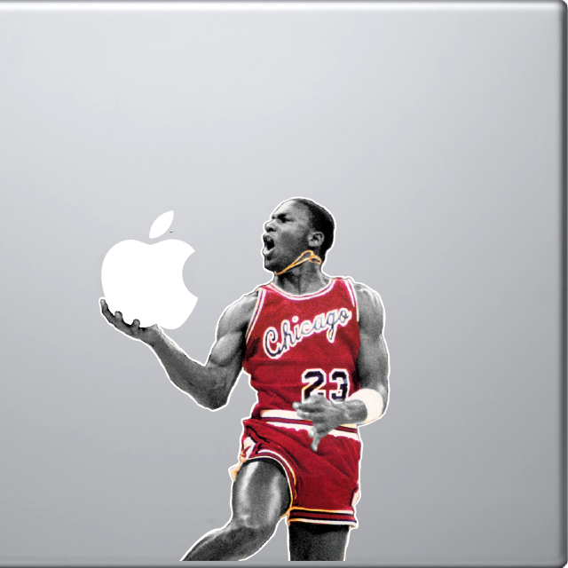Fancy - Michael Jordan MacBook Decal
