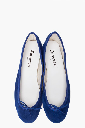 Repetto Goatskin Ballerina Flats for women