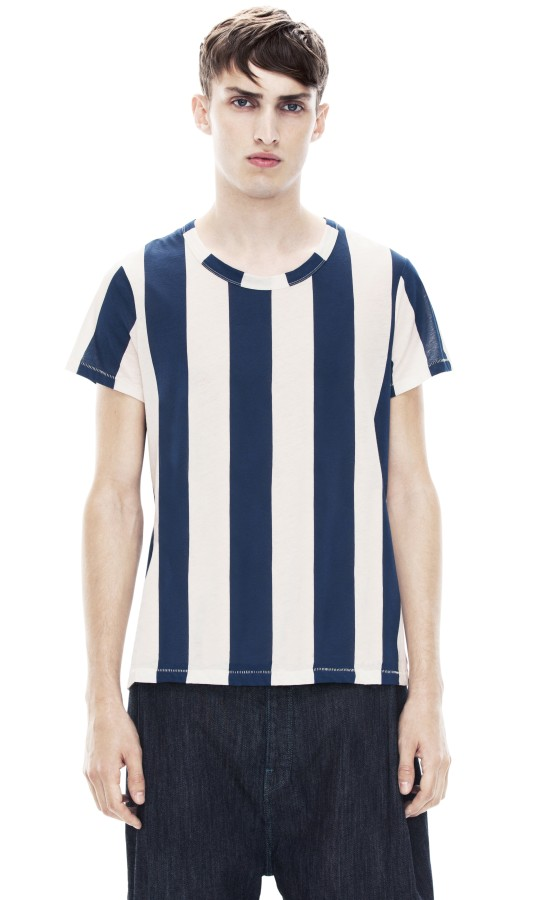 Hardy Str Navy Stripe Shop Ready to Wear, Accessories, Shoes and Denim for Men and Women