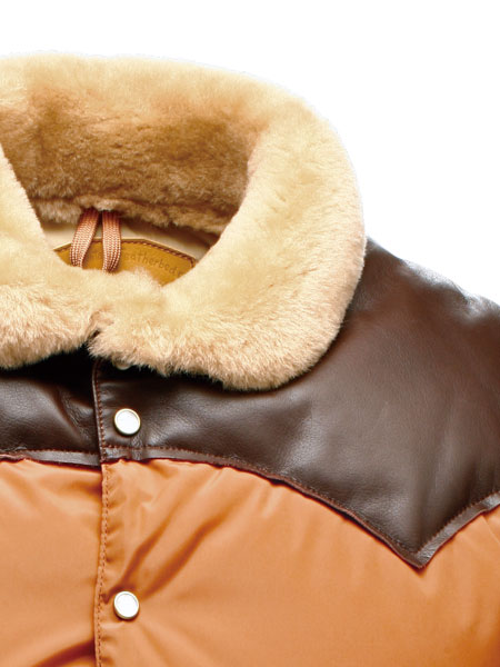 Rocky Mountain Featherbed : CHRISTY VEST / BROWN