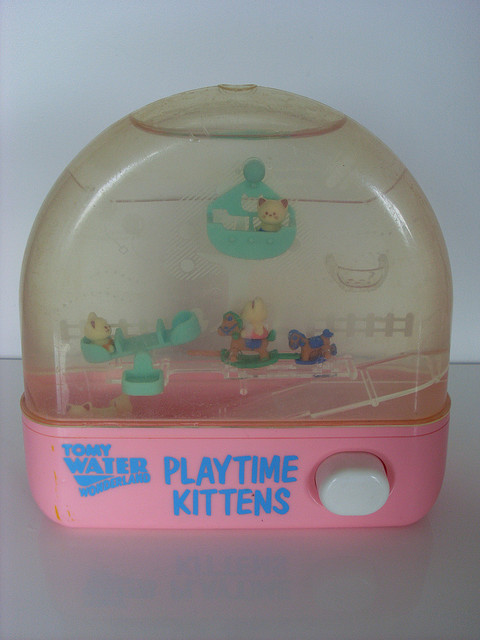 Tomy water Wonderland :Play time Kitty | Flickr - Photo Sharing!