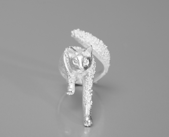 Culoyon Silver Chasseur Tsubu Ring on sale at L'Exception