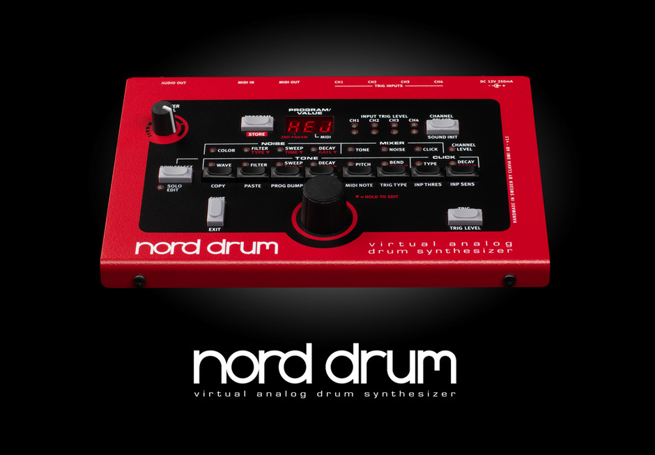 Nord Drum - The drums of the future come from the past