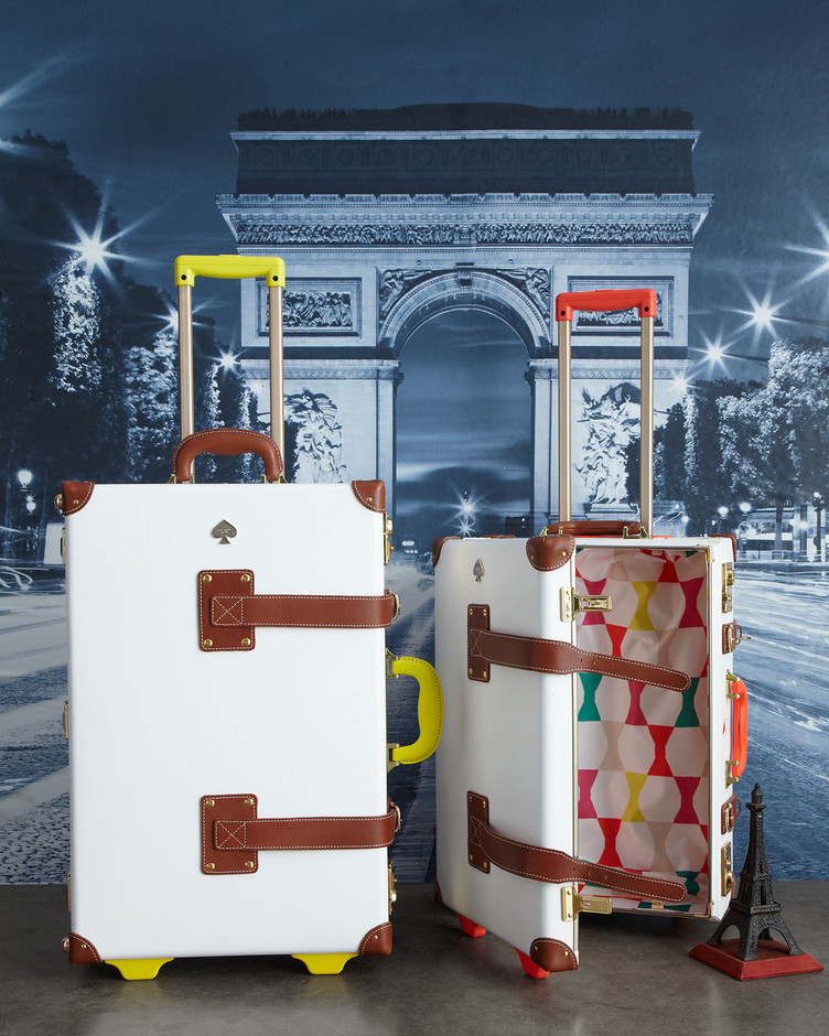 Kate Spade Things We Love Carry-On & Stowaway Luggage - Neiman Marcus