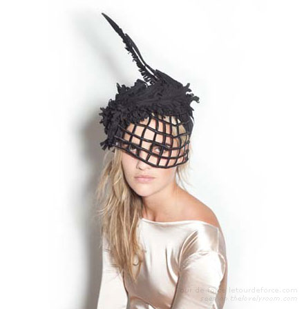 Party Style — Tour de Force Headpieces   Lovely Room