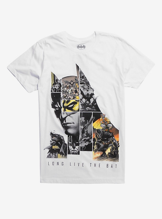 Batman 80th Anniversary Long Live The Bat T-Shirt