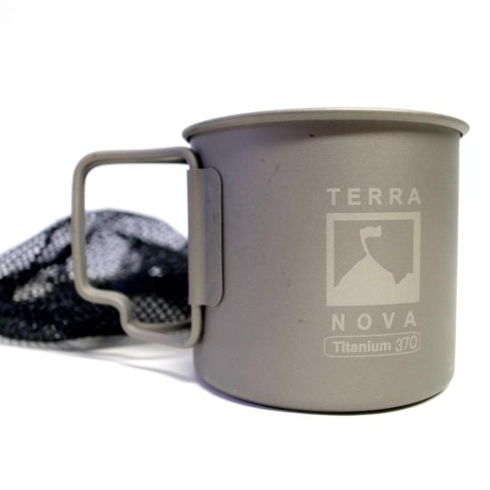 テラノバ チタンマグカップ 370ml TERRA NOVA TITANIUM MUG | UTILITY Outdoor Select Shop