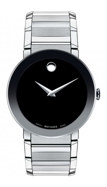 Movado | Men's Sapphire Stainless Steel Bracelet Watch
