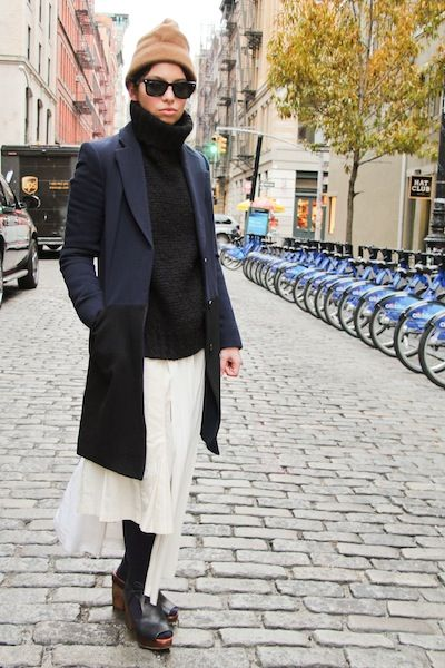 layering with comme des garçons | fashion tribe: cool & chic - toujo…
