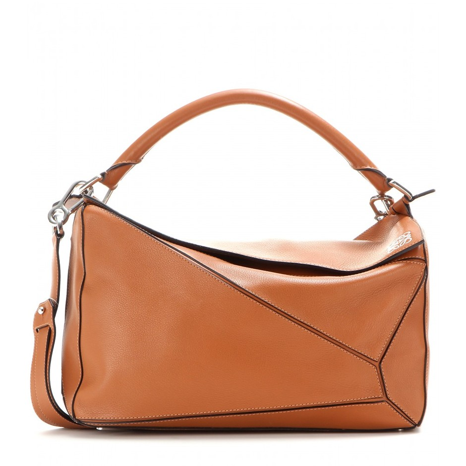 mytheresa.com - Puzzle Large leather tote - Totes - Bags - Loewe - Luxury Fashion for Women / Designer clothing, shoes, bags