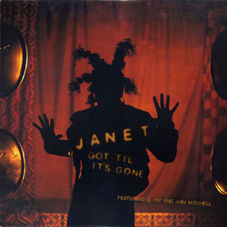 JANET JACKSON / GOT 'TIL IT'S GONE VIRGIN 12inch Vinyl record 中古レコード通販
