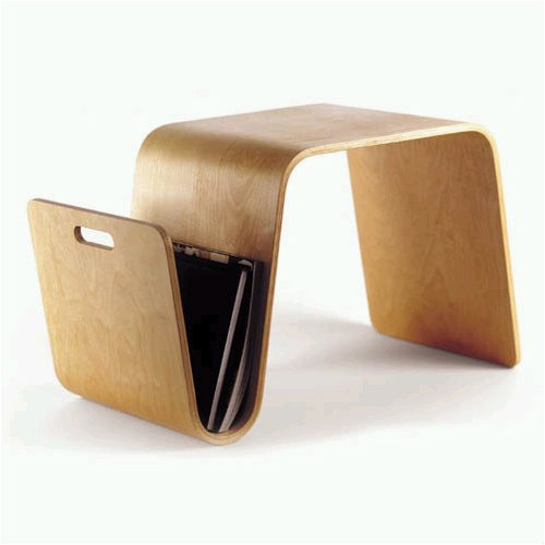Offi Mag Table in Birch: Amazon.com: Home & Kitchen