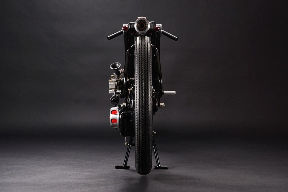 RocketGarage Cafe Racer: 1966 Little Honda P25 :: CA6 By Chicara Nagata
