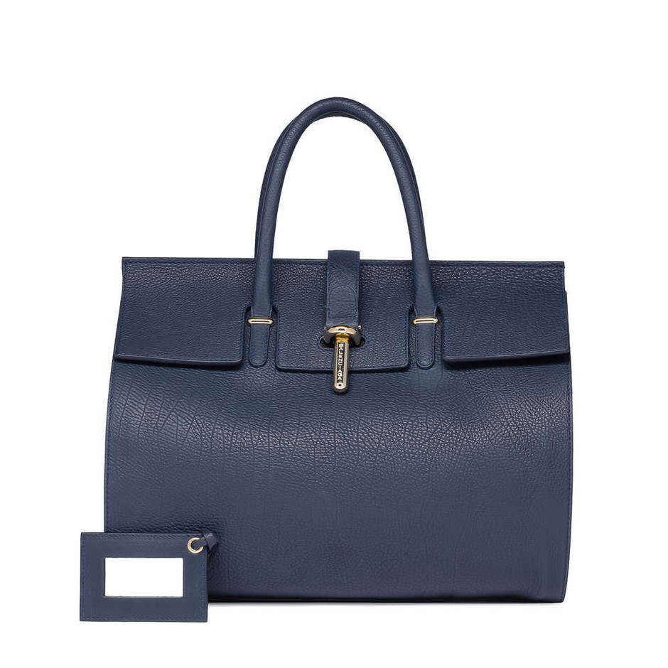 Royal Blue Balenciaga Royal Blue Tube Round M - Handbags's Seasonal - Balenciaga
