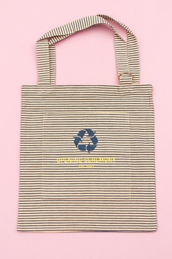 UA02 STRIPE TOTE BAG - BLUE - SHOP - BAGS - TOTES - OPENING CEREMONY at the ACE HOTEL New York
