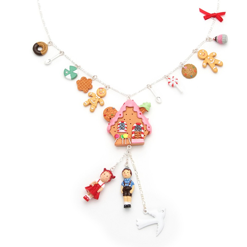 Gingerbread house and candie charms - Les Néréides - N2