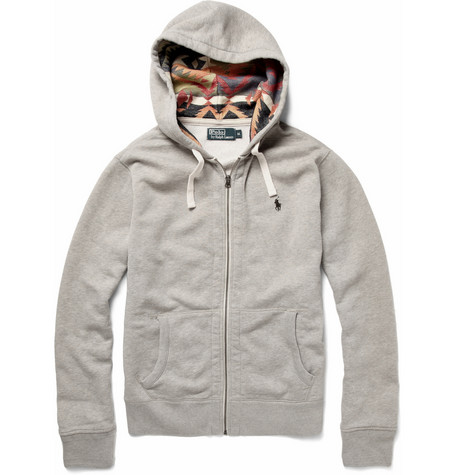 Polo Ralph Lauren Fleece Lined Hoodie Top | MR PORTER
