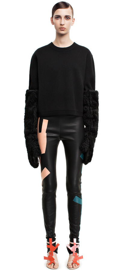 Acne Studios - Mind black - Trousers - SHOP WOMAN - Shop Shop Ready to Wear, Accessories, Shoes and Denim for Men and Women