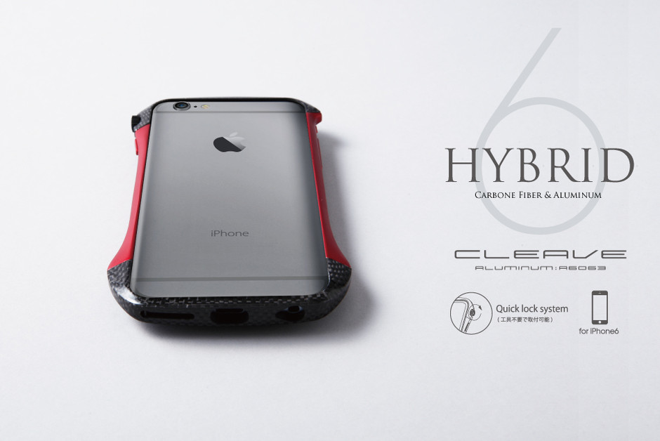 iPhone6用アルミバンパー CLEAVE Hybrid Bumper for iPhone 6【送料無料】10月下旬後半発送予定 / Deff DIRECT STORE