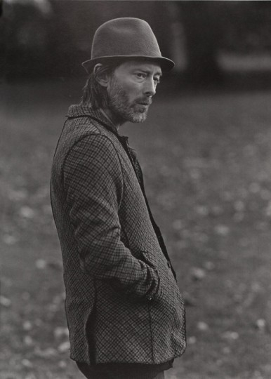 Fancy - Thom Yorke in Undercover for HUGE Magazine