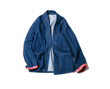 DENIM SHIRT CARDIGAN