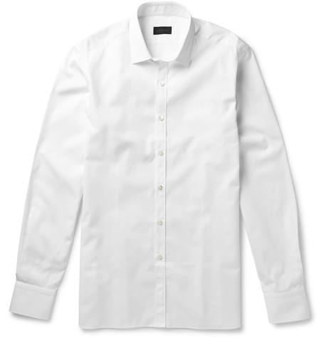 Lanvin - Slim-Fit Cotton-Poplin Shirt