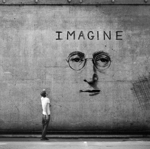 imagine - Words Over Pixels - Daily Inspiration