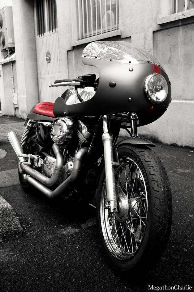"""Kustom HD 1200 Sportster - (Press """"L"""" for a better view)   Flickr - Photo Sharing!"""