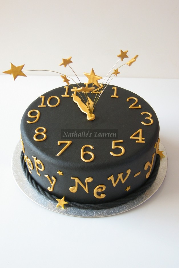 Happy New Year by Nathalie1970 on Cake Central
